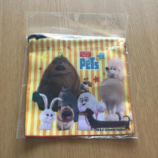 ユニバーサルエンターテインメント(UNIVERSAL ENTERTAINMENT)のPeTs(ペット)巾着袋 100円(キャラクターグッズ)