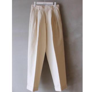 本日限定sale fumika_uchida cotton linen パンツ
