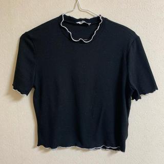 ZARA - ZARA リブTシャツ