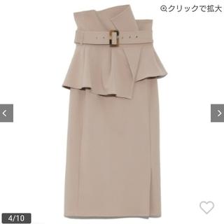 snidel - snidel ハイウエストポンチスカート