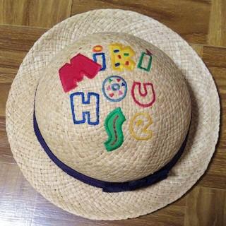 mikihouse - 【送料無料】MIKI HOUSE 麦わら帽子