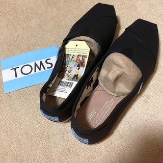 TOMS - TOMS  スリッポン ブラック  US7