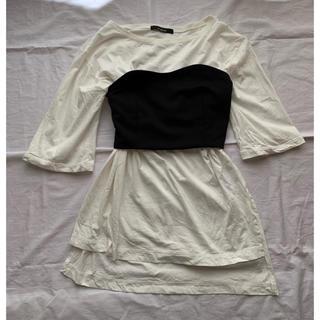 w closet - wcloset ビスチェ tシャツ セット
