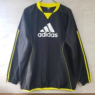 adidas - adidas アディダス ピステ ナイロン ロング Tシャツ 黒 2XO