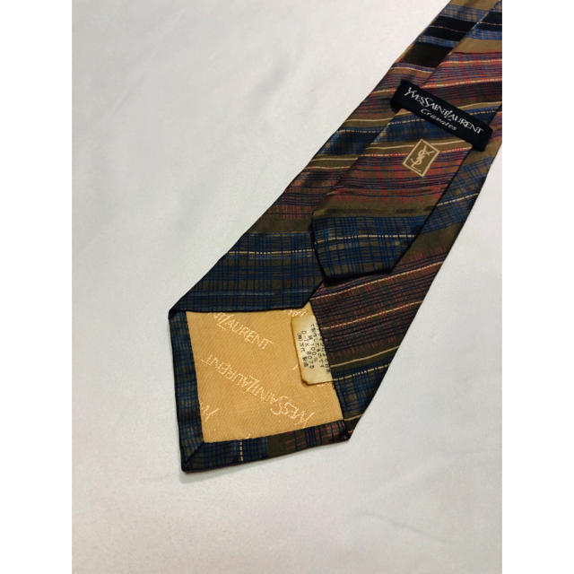Saint Laurent(サンローラン)の2点購入で1点プレゼント!イヴ・サンローラン ネクタイ 571 メンズのファッション小物(ネクタイ)の商品写真