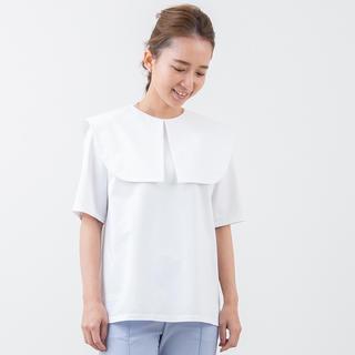 新品 タグ付き yori ウイングカラーカットソー シャツ ヨリ 2019SS