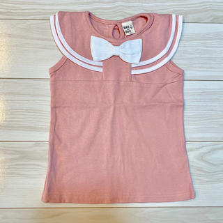 【新品】セーラー風Tシャツ 120