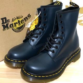 Dr.Martens - ドクターマーチン ネイビー 8ホール UK4 1460