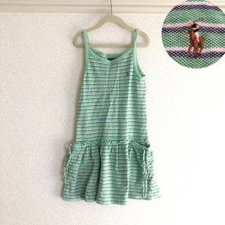 130cm ◾︎ラルフローレンワンピース ◾︎ロゴ刺繍120cm7ハワイ