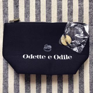 Odette e Odile - ◉Odette e Odile ふかふか自立ポーチ&ゴールドヘアゴム