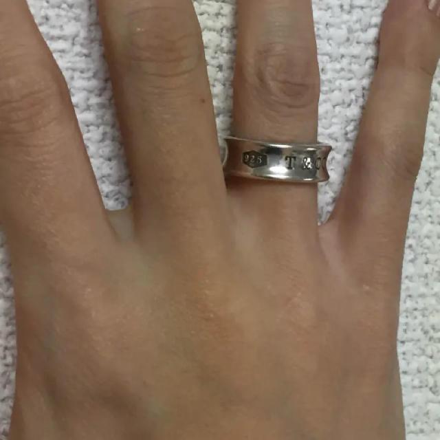 Tiffany & Co.(ティファニー)のティファニー 1837 ミディアムリング ティファニー レディースのアクセサリー(リング(指輪))の商品写真