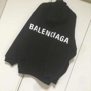 Balenciaga - BALENCIAGA バックプリント パーカー