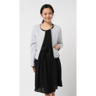 エムエフエディトリアル(m.f.editorial)のm.f.editorial:Women ツィードジャケット+ワンピース+スカート(ミディアムドレス)