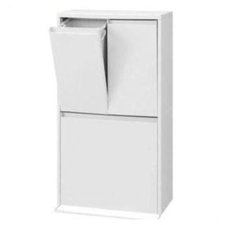 ムジルシリョウヒン(MUJI (無印良品))の無印良品 ダストボックス ホワイト ゴミ箱(ごみ箱)