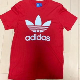 adidas - adidas originals ロゴ Tシャツ