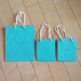 ティファニー(Tiffany & Co.)のティファニー ショップ袋 ショッパー(ショップ袋)