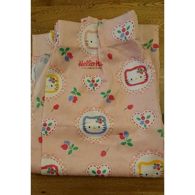 ハローキティ(ハローキティ)のカーテン 生地 キティ ハンドメイドの素材/材料(生地/糸)の商品写真
