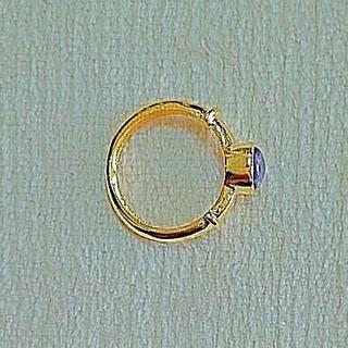 10号 ゴールドリング アメジスト アズニロンドン ロンハーマン 送料込み(リング(指輪))