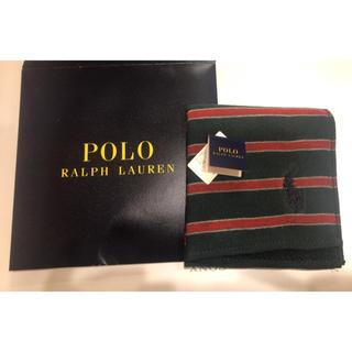 ポロラルフローレン(POLO RALPH LAUREN)のPOLO RALPH LAUREN タオルハンカチ(ハンカチ/ポケットチーフ)
