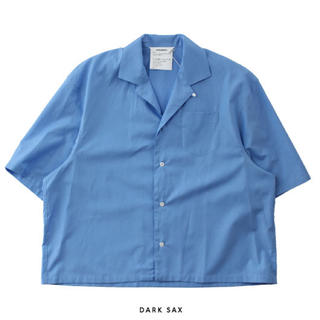 DIGAWEL - 19ss 即完売 DIGAWEL CAMP COLLAR S/S SHIRT