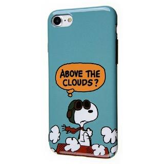 スヌーピー(SNOOPY)のPEANUTS スヌーピー フライングエース iPhoneケース(iPhoneケース)
