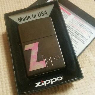 ジッポー(ZIPPO)のZippo トロピカル Z(ピンク)(タバコグッズ)