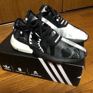 A BATHING APE - adidas×BAPE×NEIGHBORHOOD POD 3.1 27.5cm