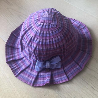 ANNA SUI mini - アナスイミニ  女の子 帽子 ハット パープル 1歳 2歳