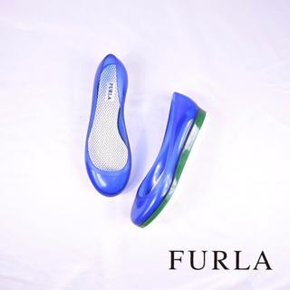 フルラ(Furla)の極美品 FURLA フルラ キャンディラバー パンプス 希少サイズ(サンダル)