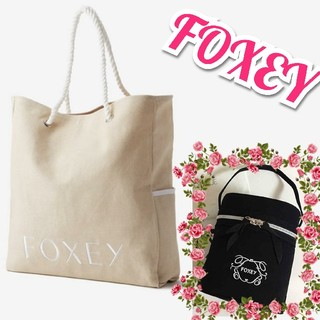FOXEY - ❤️FOXEY❤️バケーショントート&バニティバックセット✨