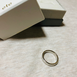 エテ(ete)のete 13号 シルバー(リング(指輪))