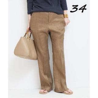 DEUXIEME CLASSE - 新品 アサ サルファーゾメ パンツ 34 ブラウン ドゥーズィエムクラス