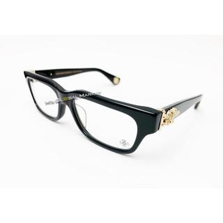 クロムハーツ(Chrome Hearts)のクロムハーツ アイウェア 黒ゴールド メガネ HEY JUCK U LATEⅡ(サングラス/メガネ)