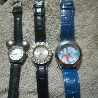 ディズニー(Disney)のディズニーの腕時計(全部不動頻度)(腕時計(アナログ))