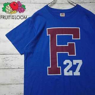 【美品】 フルーツオブザルーム デカプリント Tシャツ N101(Tシャツ/カットソー(半袖/袖なし))