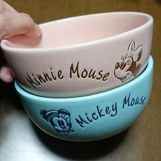 Disney - ミッキー&ミニー どんぶりセット