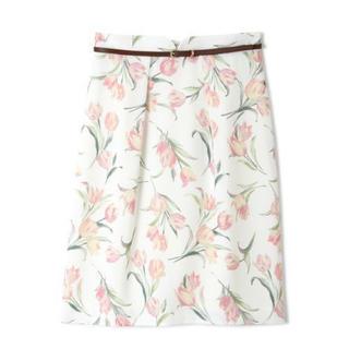 PROPORTION BODY DRESSING - プロポーション ガーデンチューリップタイトスカート