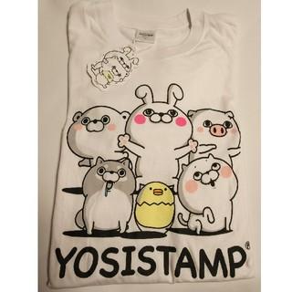 ヨッシースタンプ メンズ Tシャツ 集合 ホワイト Lサイズ