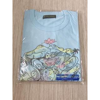 24時間テレビ チャリティー Tシャツ ブルー LLサイズ(Tシャツ(半袖/袖なし))
