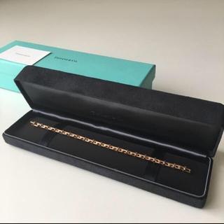 Tiffany & Co. - ティファニー Tナローチェーン ブレスレット