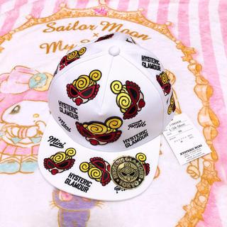 HYSTERIC MINI - ヒスミニ   フェイス刺繍キャップ
