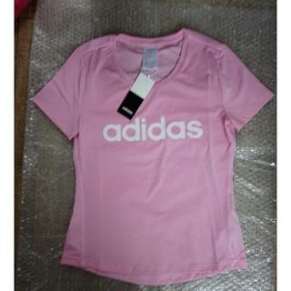 adidas - アディダスTシャツ ランニング ピンク