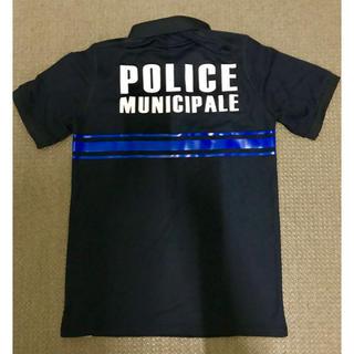 フランスMUNICIPALE 市警察ポロシャツ ネイビー XSサイズ(ポロシャツ)