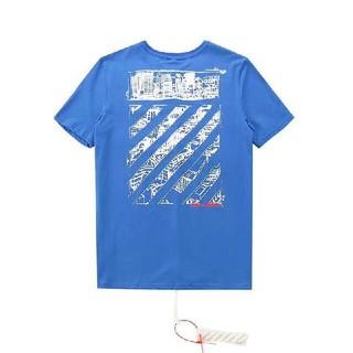 オフホワイト(OFF-WHITE)のOFF WHITE Tシャツ 半袖 メンズ レディース M(Tシャツ/カットソー(半袖/袖なし))