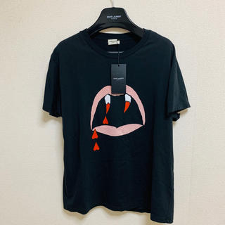 Saint Laurent - 17SS 国内直営店購入 saint laurent ブラッドラスターTシャツ