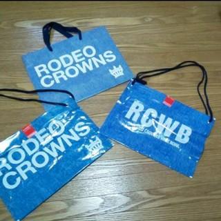ロデオクラウンズ(RODEO CROWNS)のRODEO CROWNS 袋3枚セット(ショップ袋)