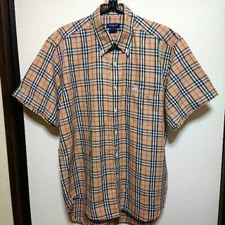 BURBERRY - 【美品】90s BURBERRY バーバリー ノバチェック 半袖 シャツ