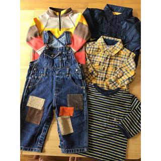 babyGAP - babyGAP☆80センチ☆オーバーオールシャツアウターなどセット