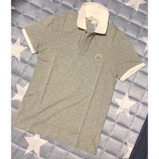 MONCLER - 美品 モンクレール MONCLER ポロシャツ グレー S Sサイズ 半袖