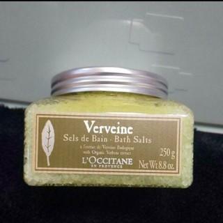 ロクシタン(L'OCCITANE)のL'OCCITANE Verveine バスソルト(入浴剤/バスソルト)